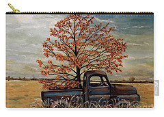Field Ornaments Carry-all Pouch by Judy Kirouac