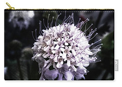 Carry-all Pouch featuring the photograph Field Scabious. A Member Of The by Mr Photojimsf