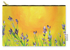 Field Sunset Carry-all Pouch by Val Miller