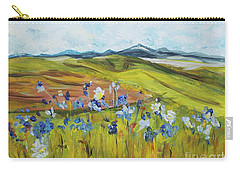 Field With Flowers Carry-all Pouch