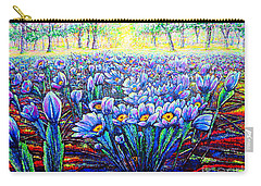 Field.flowers Carry-all Pouch by Viktor Lazarev