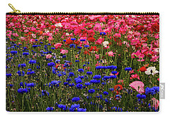Fields Of Flowers Carry-all Pouch