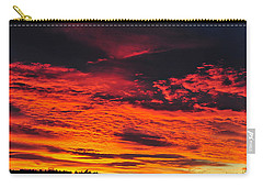 Fiery Close Of Day Carry-all Pouch