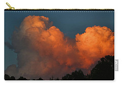 Fiery Cumulus Carry-all Pouch by Kathryn Meyer