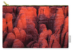 Carry-all Pouch featuring the photograph Fiery Furnace by Dustin LeFevre