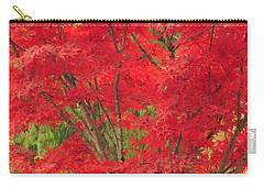 Fiery Japanese Maple Carry-all Pouch