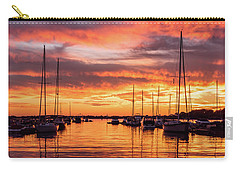 Fiery Lake Norman Sunset Carry-all Pouch