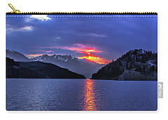 Fiery Sunset At Summit Cove Carry-all Pouch