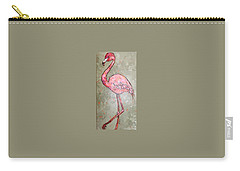 Fifi Flamingo Carry-all Pouch