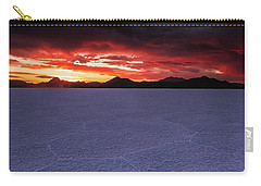 Carry-all Pouch featuring the photograph Fight For The Light by Edgars Erglis