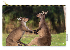 Fighting Kangaroos Carry-all Pouch