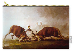 Fighting Stags II. Carry-all Pouch