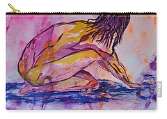 Figurative Abstract Nude 7 Carry-all Pouch by Judi Goodwin
