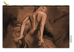 Carry-all Pouch featuring the painting Figurative Art 007dc by Gull G