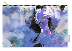 Carry-all Pouch featuring the painting Figurative Dance Art 509w by Gull G