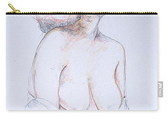 Figure Study Profile 1 Carry-all Pouch