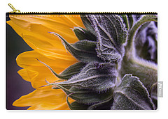 Filtered Sunflower Carry-all Pouch by Arlene Carmel