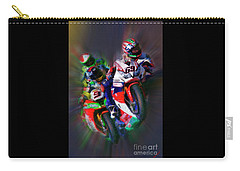 Fim Superbike Nicky Hayden Leads The Way Carry-all Pouch