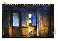 Carry-all Pouch featuring the digital art Final Days - Choices by Stuart Turnbull