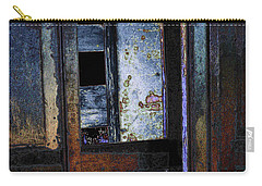 Carry-all Pouch featuring the digital art Final Days - Past Meets Present by Stuart Turnbull