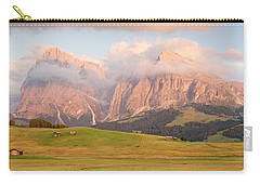 Final Light Hits The Langkofel And Sassoungo Carry-all Pouch