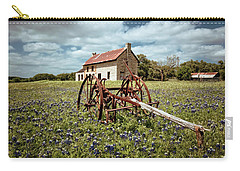 Carry-all Pouch featuring the photograph Final Resting Place by Linda Unger