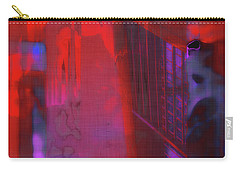 Carry-all Pouch featuring the digital art Final Scene - Before The Bell by Wendy J St Christopher