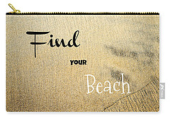 Find Your Beach Carry-all Pouch