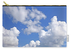 Carry-all Pouch featuring the digital art Finding Focus Sky by Francesca Mackenney