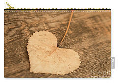 Carry-all Pouch featuring the photograph Finding Hearts by Ana V Ramirez