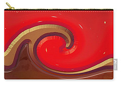 Carry-all Pouch featuring the digital art Finding Water On Mars by Wendy J St Christopher