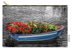Carry-all Pouch featuring the photograph Fine Wine Cafe Boat Parade by Aimee L Maher Photography and Art Visit ALMGallerydotcom