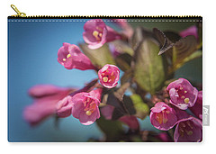 Carry-all Pouch featuring the photograph Fine Wine Weigela by William Lee