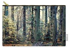 Fir Forest-2 Carry-all Pouch by Henryk Gorecki