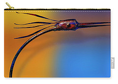 Carry-all Pouch featuring the photograph Fire Bird by Paul Wear
