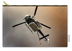 Carry-all Pouch featuring the photograph Fire Drop by Chris Tarpening