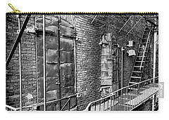 Fire Escape And Doors Carry-all Pouch