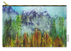 Fire In Glacier Park Carry-all Pouch