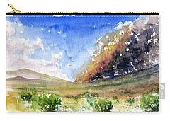 Fire In The Desert 1 Carry-all Pouch by John D Benson