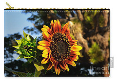 Fire In The Garden Carry-all Pouch by Angela J Wright