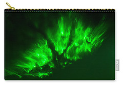 Carry-all Pouch featuring the photograph Fire In The Sky by Greg Collins