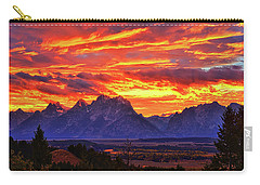 Designs Similar to Fire In The Teton Sky