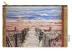Fire Island Walkway To The Beach Carry-all Pouch
