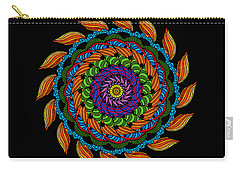Fire Mandala Carry-all Pouch
