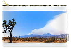Fire On The Mountain 2 Carry-all Pouch by Angela J Wright