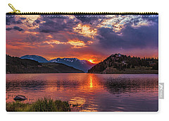 Fire On The Water Reflections Carry-all Pouch