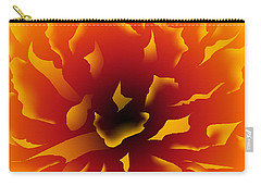Fire Peony Carry-all Pouch