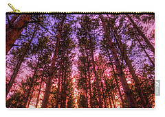 Carry-all Pouch featuring the photograph Fire Sky - Sunset At Retzer Nature Center - Waukesha Wisconsin by Jennifer Rondinelli Reilly - Fine Art Photography