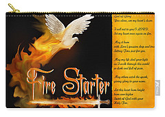 Fire Starter Poem Carry-all Pouch