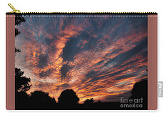 Fire Swept Sky  Carry-all Pouch